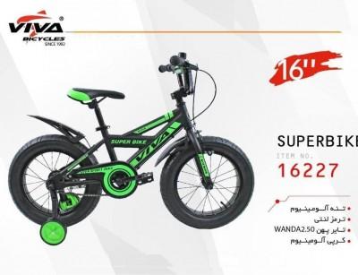 دوچرخه ویوا سوپربایک سایز 16 کد 16227 - VIVA SUPERBIKE