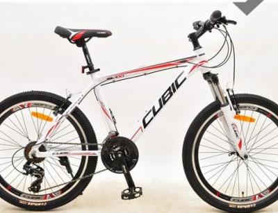 دوچرخه  کوبیک سایز 26 کد 2601 تنه آلومینیومی  CUBIC AX1