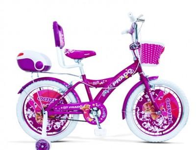 دوچرخه  دخترانه پرادو سایز 20 کد 2000516 -  PRADO