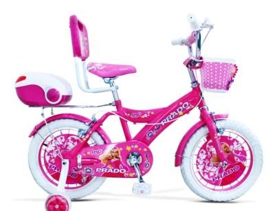 دوچرخه دخترانه پرادو سایز 16 کد 1600632 -  PRADO