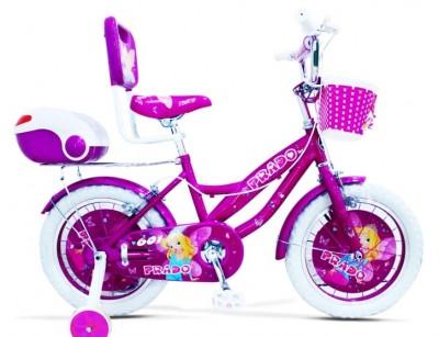 دوچرخه دخترانه پرادو سایز 16 کد 1600631 -  PRADO