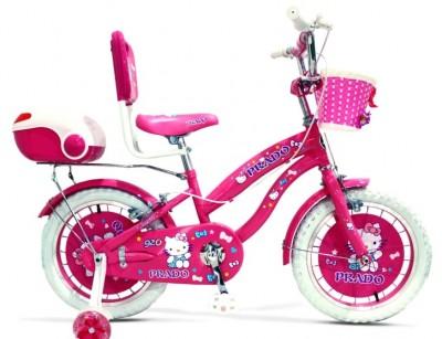دوچرخه دخترانه پرادو سایز 16 کد 1600663 -  PRADO