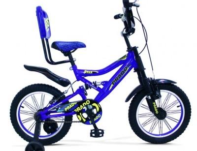 دوچرخه پرادو دو کمک دار سایز 16 کد 1600633 -  PRADO