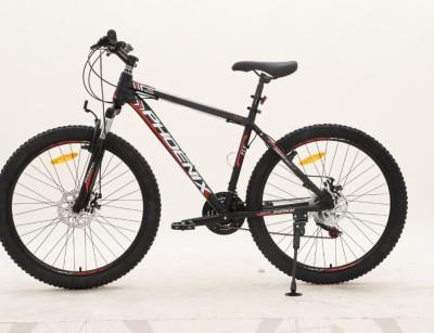 دوچرخه  فونیکس FLY سایز 26 کد 261001 تنه آلومینیومی و دیسکی PHOENIX FLY- ZK100