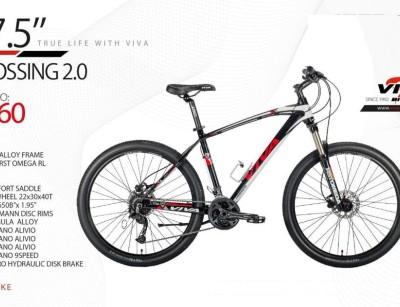 دوچرخه ویوا مدل کراسینگ کد 2760 سایز 27 -  VIVA CROSSING 2.0