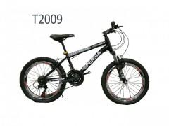 دوچرخه  دنده ای کمک دار سایز 20 اورسایز مدل T2009