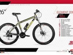 دوچرخه کوهستان ویوا مدل المنت کد 2603 سایز 26 -  VIVA ELEMENT 2DISC - 2019 collection با ارسال رایگان