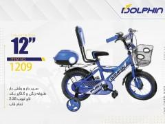 دوچرخه بچه گانه دلفین  مدل 1209 سایز 12 -  DOLPHIN