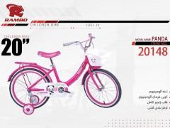 دوچرخه بچه گانه رامبو مدل پاندا کد 20148 سایز 20 -  RAMBO PANDA