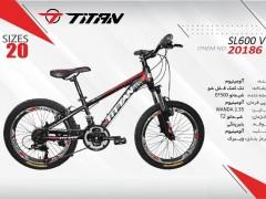 دوچرخه بچه گانه تیتان کد 20186 سایز 20 -  TITAN SL600 V