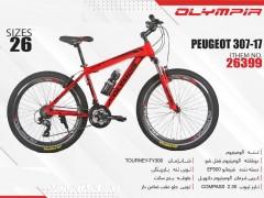 دوچرخه المپیا پژو کد 26399 سایز 26 -   OLYMPIA PEUGEOT 307-17 با ارسال رایگان