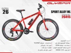 دوچرخه المپیا اسپورت کد 26415 سایز 26 -   OLYMPIA SPORT ALLOY ML با ارسال رایگان