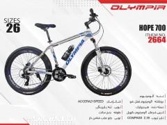 دوچرخه المپیا هوپ کد 2664 سایز 26 -   OLYMPIA HOPE700 با ارسال رایگان