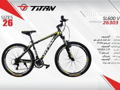 دوچرخه تیتان کد 26303 سایز 26 -   TITAN SL600V