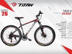 دوچرخه تیتان کد 26302 سایز 26 -   TITAN T600D