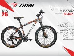 دوچرخه تیتان کد 26402 سایز 26 -   TITAN SL800 DISC
