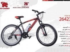 دوچرخه رامبو جردن کد 26423 سایز 26 -   RAMBO JORDAN