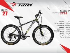 دوچرخه تیتان کد 2728 سایز 27 -   TITAN SL800V