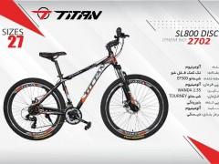 دوچرخه تیتان کد 2702 سایز 27 -  TITAN SL800 DISC