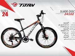 دوچرخه تیتان کد 24102 سایز 24 -  TITAN SL600 DISC