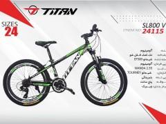 دوچرخه تیتان کد 24115 سایز 24 -  TITAN SL800