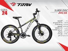 دوچرخه تیتان کد 24116 سایز 24 -  TITAN SL800 DISC