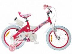 دوچرخه بچه گانه قناری مدل کندی سایز 16 CANARY CANDY با گارانتی 1 ساله