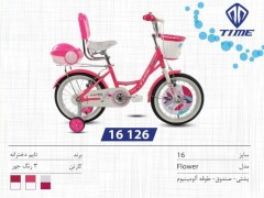 دوچرخه تایم مدل فلاور کد 16126 سایز 16- TIME FLOWER