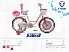 دوچرخه تایم مدل فلاور کد 20127 سایز 20- TIME FLOWER
