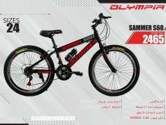 دوچرخه المپیا سامر کد 2465 سایز 24 -   OLYMPIA SAMMER S60