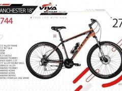 دوچرخه ویوا منچستر 18 سایز 27 کد 2744 -  VIVA MANCHESTER 18