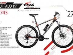 دوچرخه تنه کربنی ویوا بوفالو 19 سایز 27 کد 2743 -  VIVA BUFFALO 19