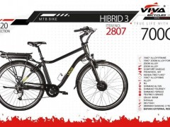 دوچرخه ویوا هیبریدی 3- MTB BIKE سایز 28 کد 2807  -VIVA MTB BIKE HYBRID 3-2020 COLLECTION