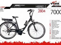 دوچرخه ویوا هیبریدی 2- MTB BIKE سایز 28 کد 2804 -  VIVA MTB BIKE HYBRID 2- 2020 COLLECTION