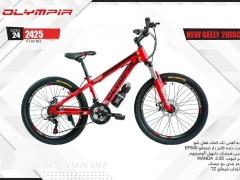 دوچرخه المپیا نیو جیلی دیسکی کد 2425 سایز 24 - OLYMPIA NEW GEELY 2 DISC