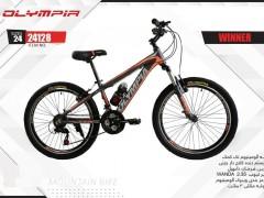 دوچرخه المپیا وینر کد 24128 سایز 24 - OLYMPIA WINNER