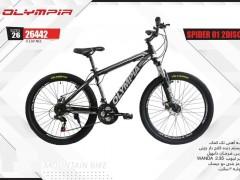 دوچرخه المپیا اسپایدر دیسکی کد 26442 سایز 26 - OLYMPIA SPIDER 01 2DISC