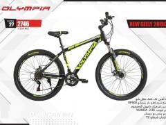 دوچرخه المپیا نیوجیلی دیسکی کد 2746 سایز 27 - OLYMPIA NEW GEELY 2DISC