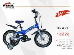 دوچرخه ویوا بریو سایز 16 کد 16226 تنه آلومینیومی - VIVA BRAVE