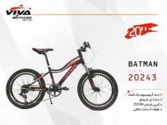 دوچرخه ویوا بتمن سایز 20 کد 20243 تنه آلومینیومی - VIVA BATMAN