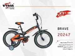 دوچرخه ویوا بریو سایز 20 کد 20247 تنه آلومینیومی - VIVA BRAVE