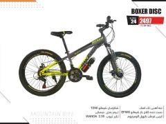 دوچرخه المپیا بوکسر دیسکی کد 2497 سایز 24 -  OLYMPIA BOXER DISC