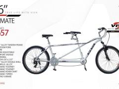 دوچرخه ویوا مدل پریمیت کد 2657 سایز 26 -  VIVA PRIMATE