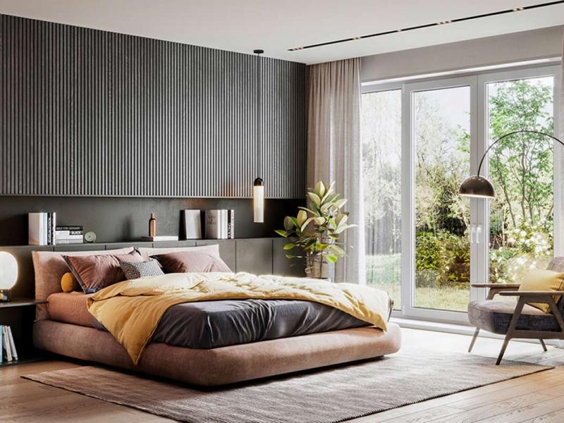 7 نکته مهم در چیدمان اتاق خواب با تخت خواب دو نفره
