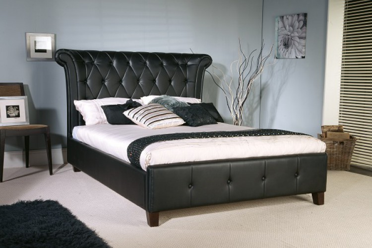 خرید تخت خواب یک و نیم نفره ام دی اف