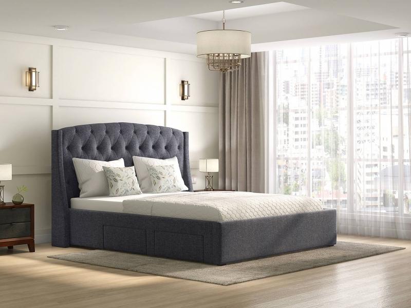 ارتفاع مناسب برای تخت خواب دونفره چقدر است؟