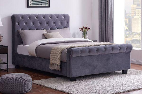 جدیدترین مدل های تخت خواب مخمل دو نفره 2021