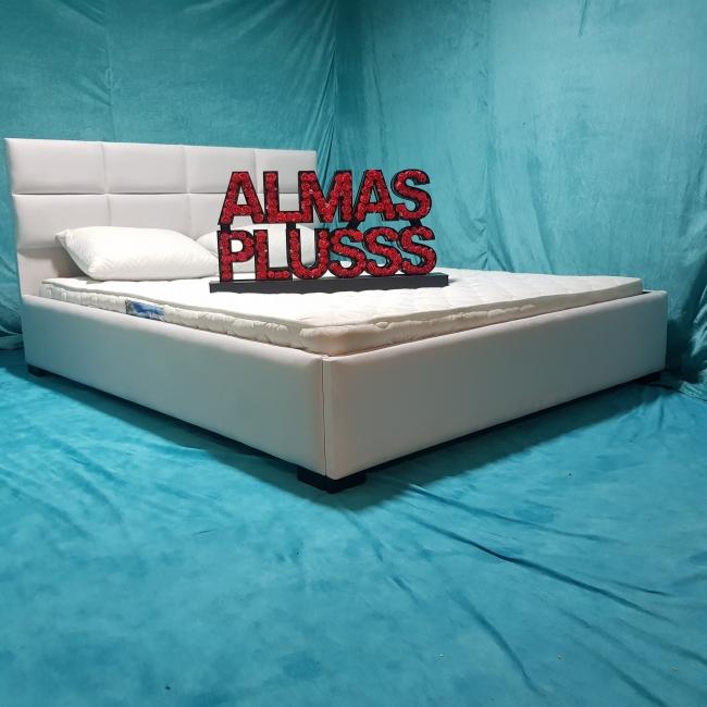 تخت خواب دونفره مدل کتیبه سایز 160×200 سانتی متر