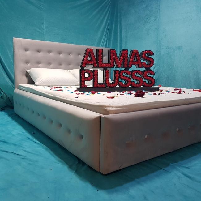 تخت خواب دونفره مدل ماتریس سایز 160×200 سانتی متر