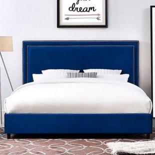 تخت خواب دونفره مدل حلما سایز 160×200 سانتی متر